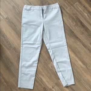 Emma Ankle Pants in Gray